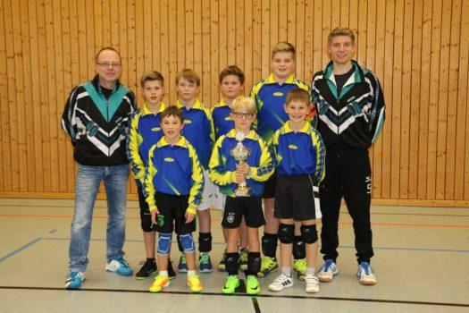 Unterfrankens Minis holen sich den Bayernpokal