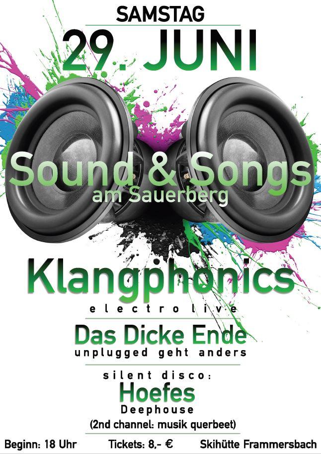 Sound & Songs: Sommernachtskonzert @ Skihütte Frammersbach